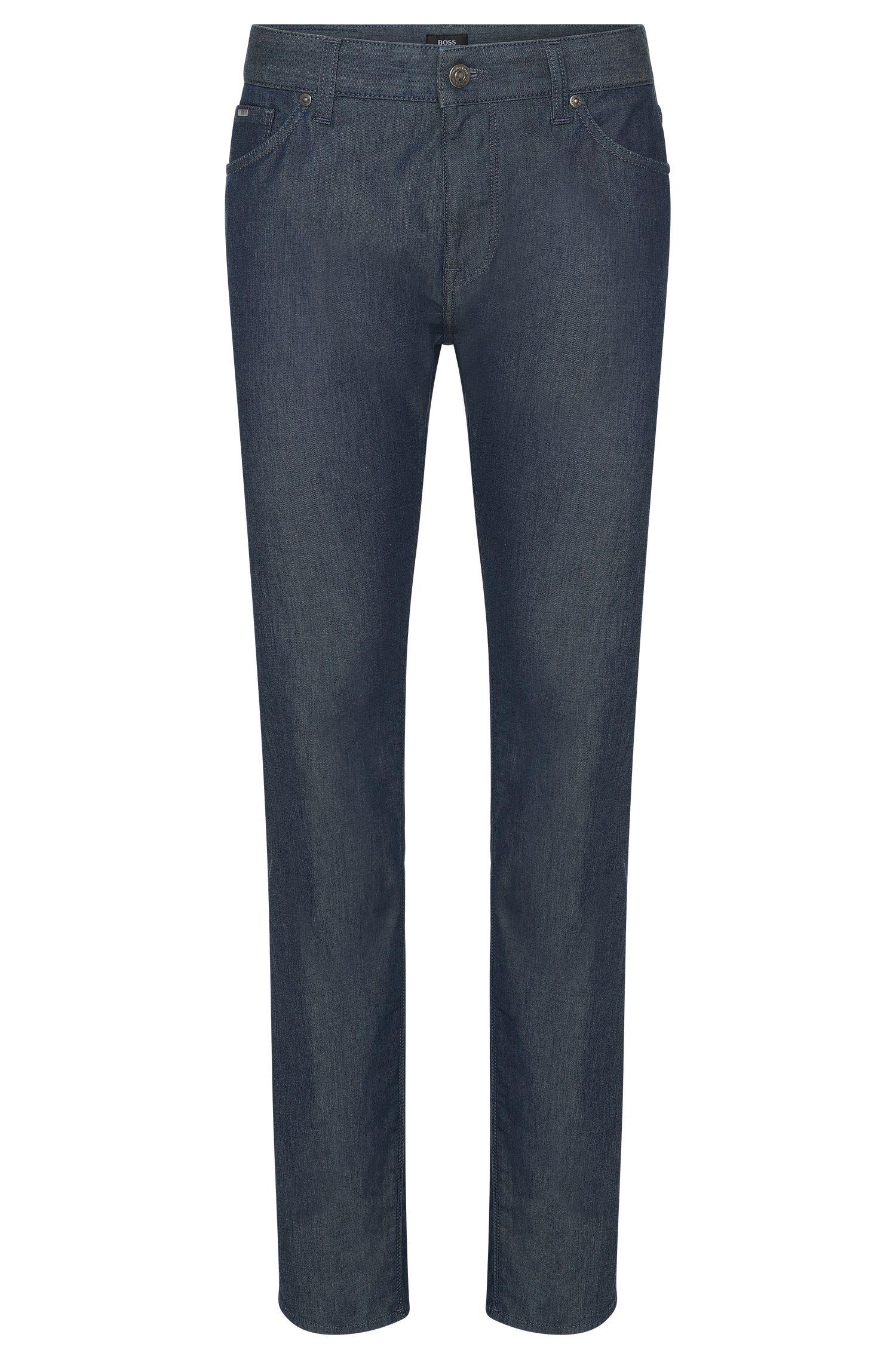 6.5 oz Stretch Cotton Jeans, Regular Fit | Maine