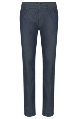 6.5 oz Stretch Cotton Jeans, Regular Fit | Maine, Dark Blue