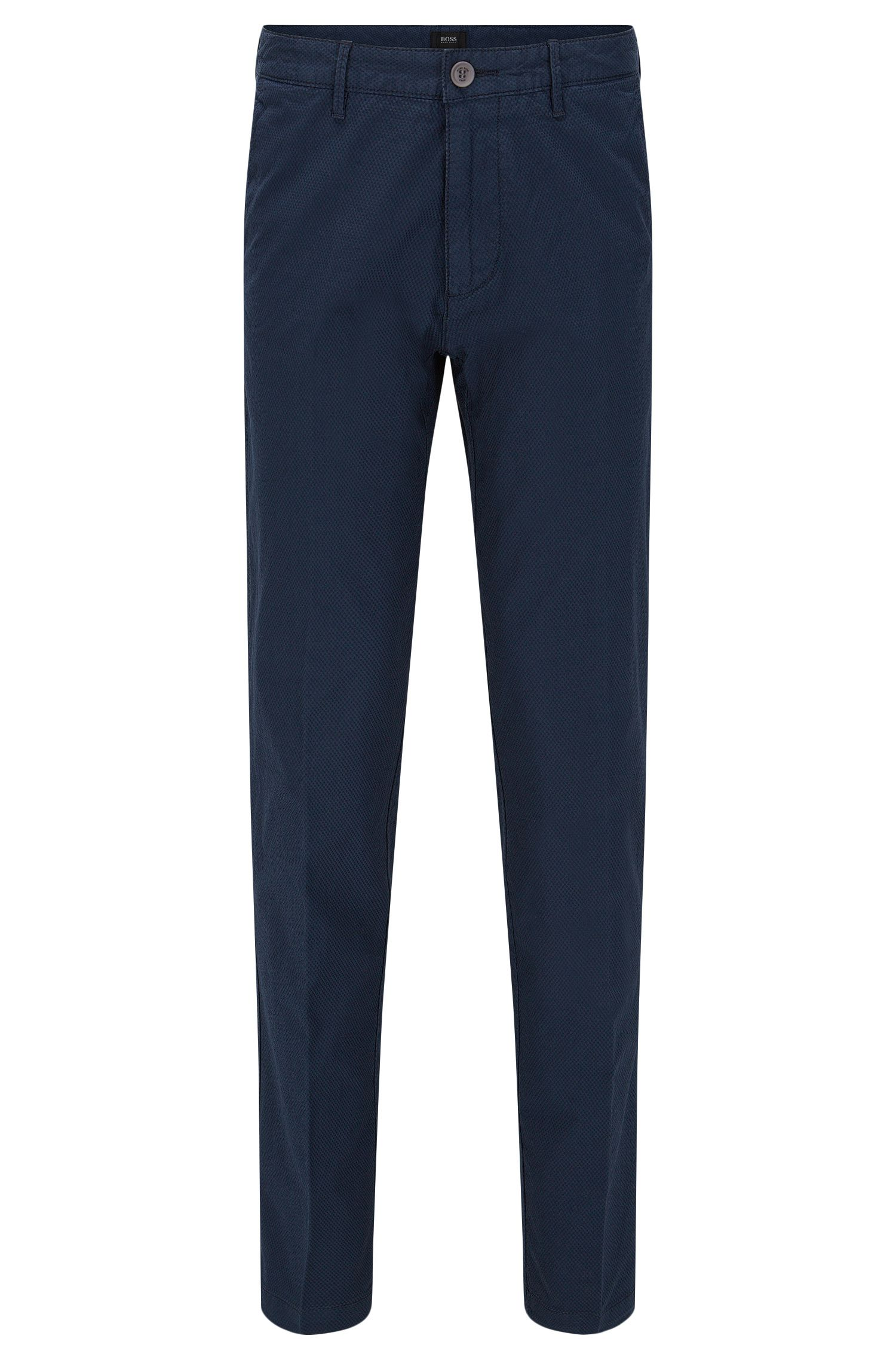 Stretch Cotton Pant | Crigan D