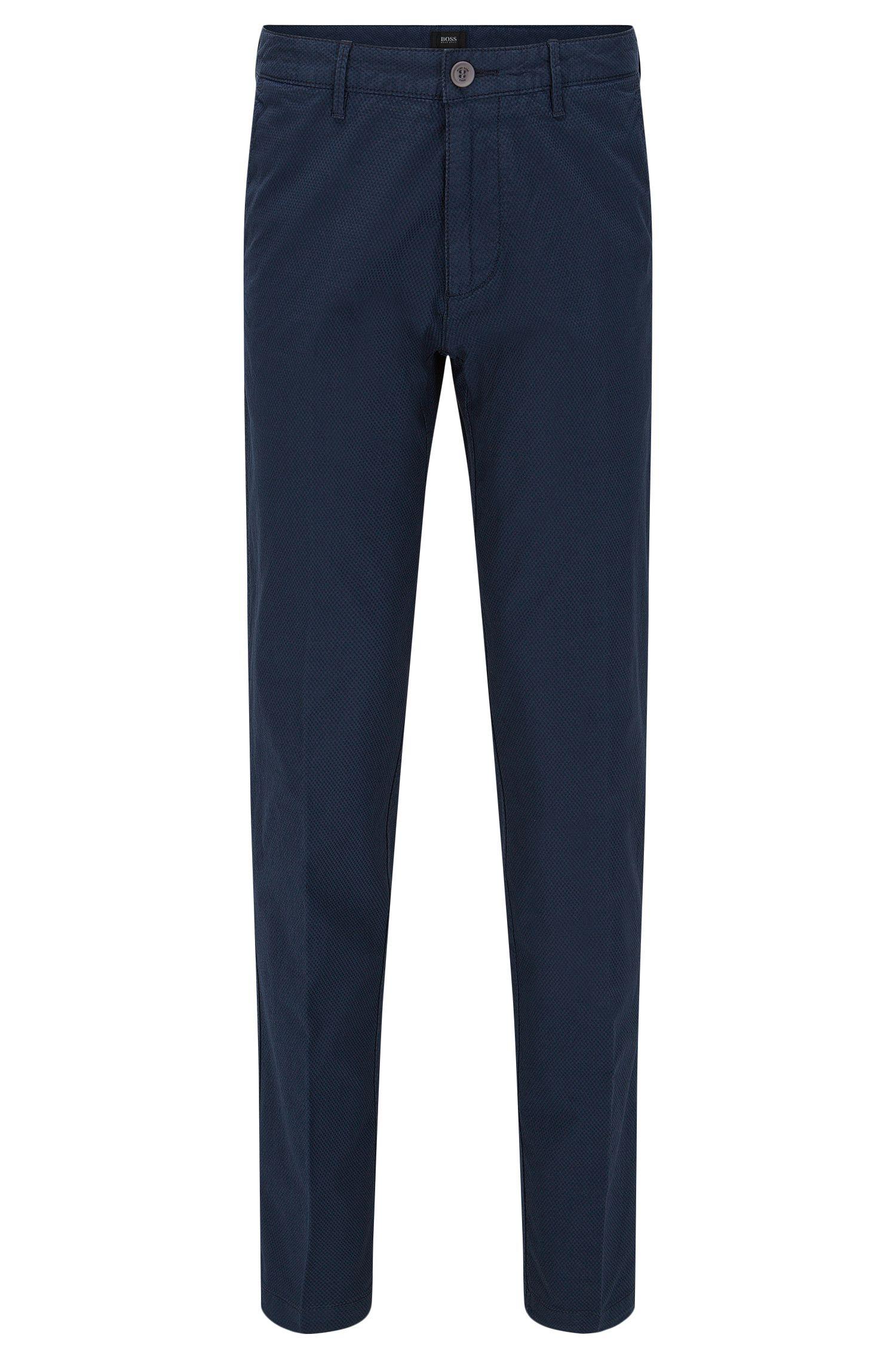 'Crigan D'   Regular Fit, Stretch Cotton Trousers
