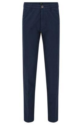 Stretch Cotton Pant | Crigan D, Dark Blue