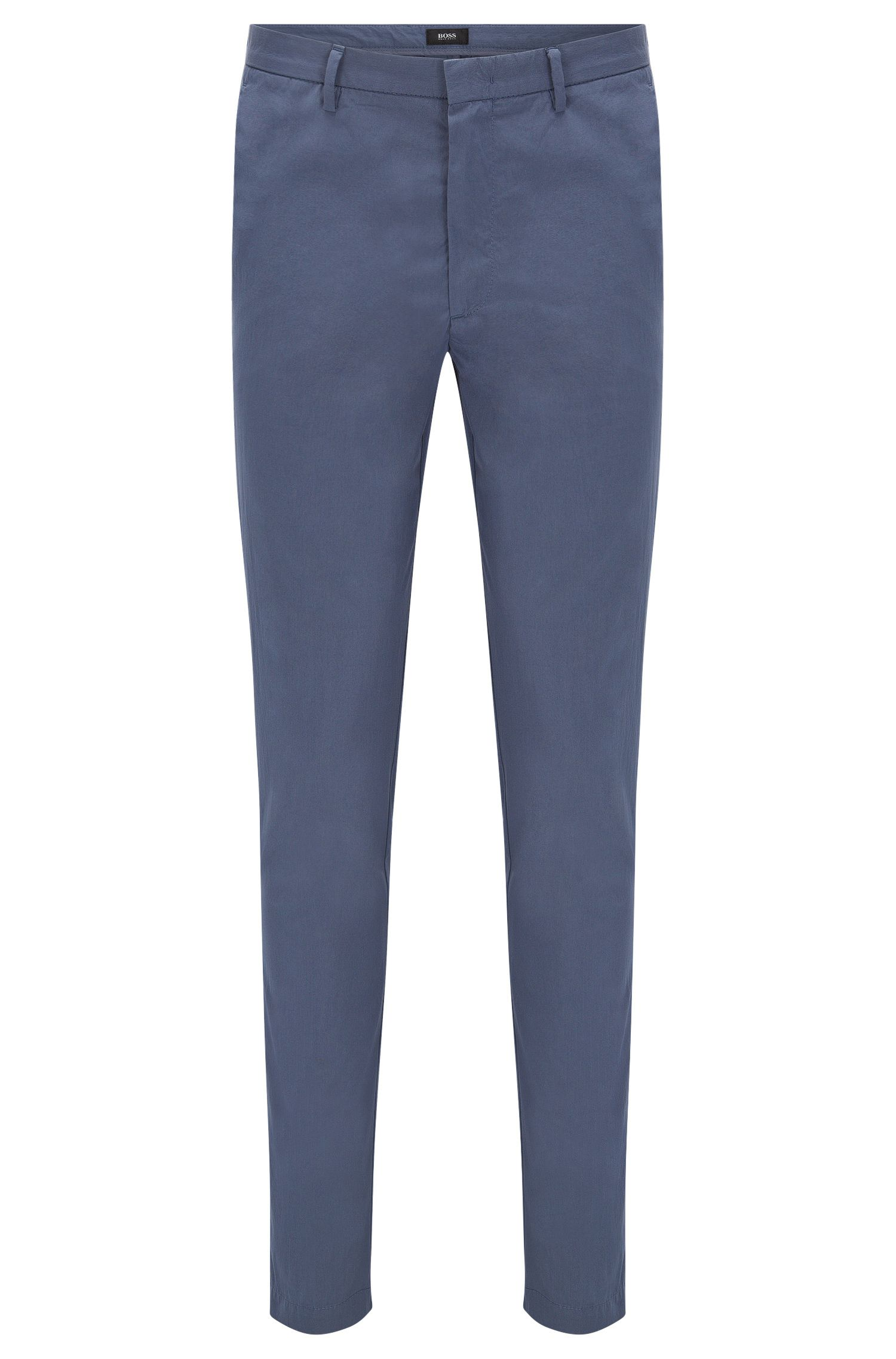 'Kaito4-W' | Slim Fit, Stretch Cotton Blend Chino Pants