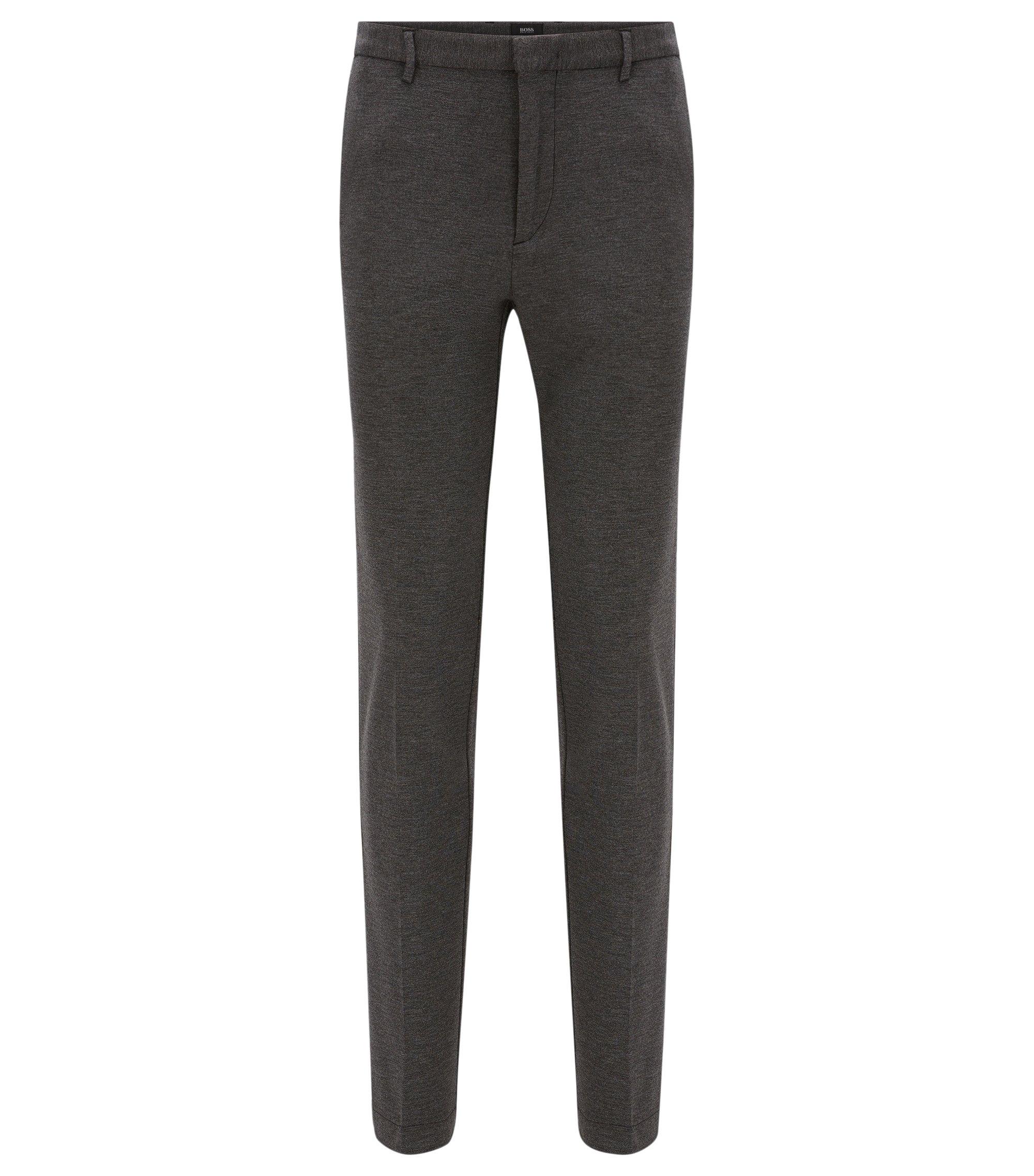 Stretch Melange Jersey Pant, Slim FIt | Kaito W, Grey