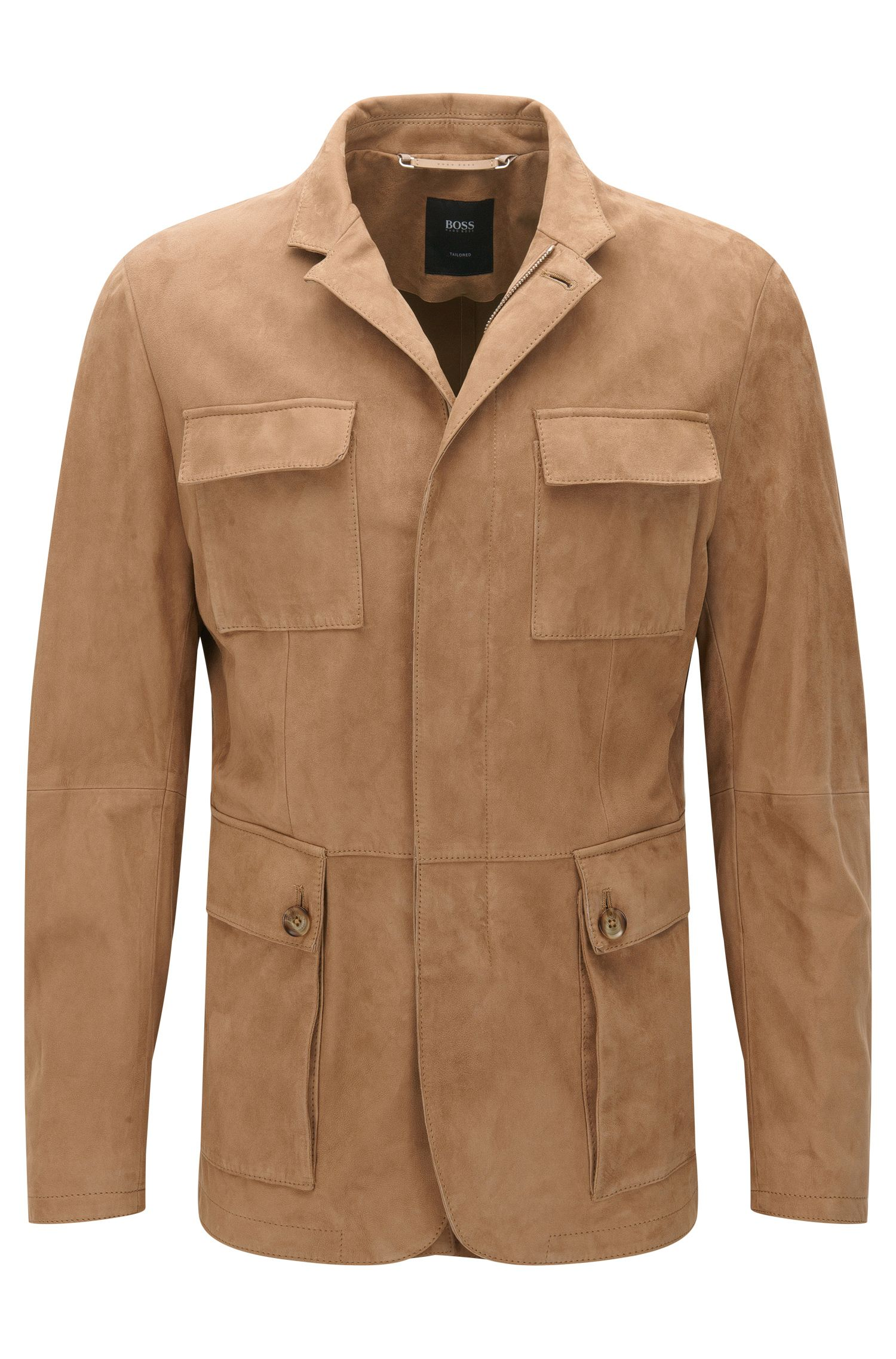 Tailored Suede Jacket | T-Norvis