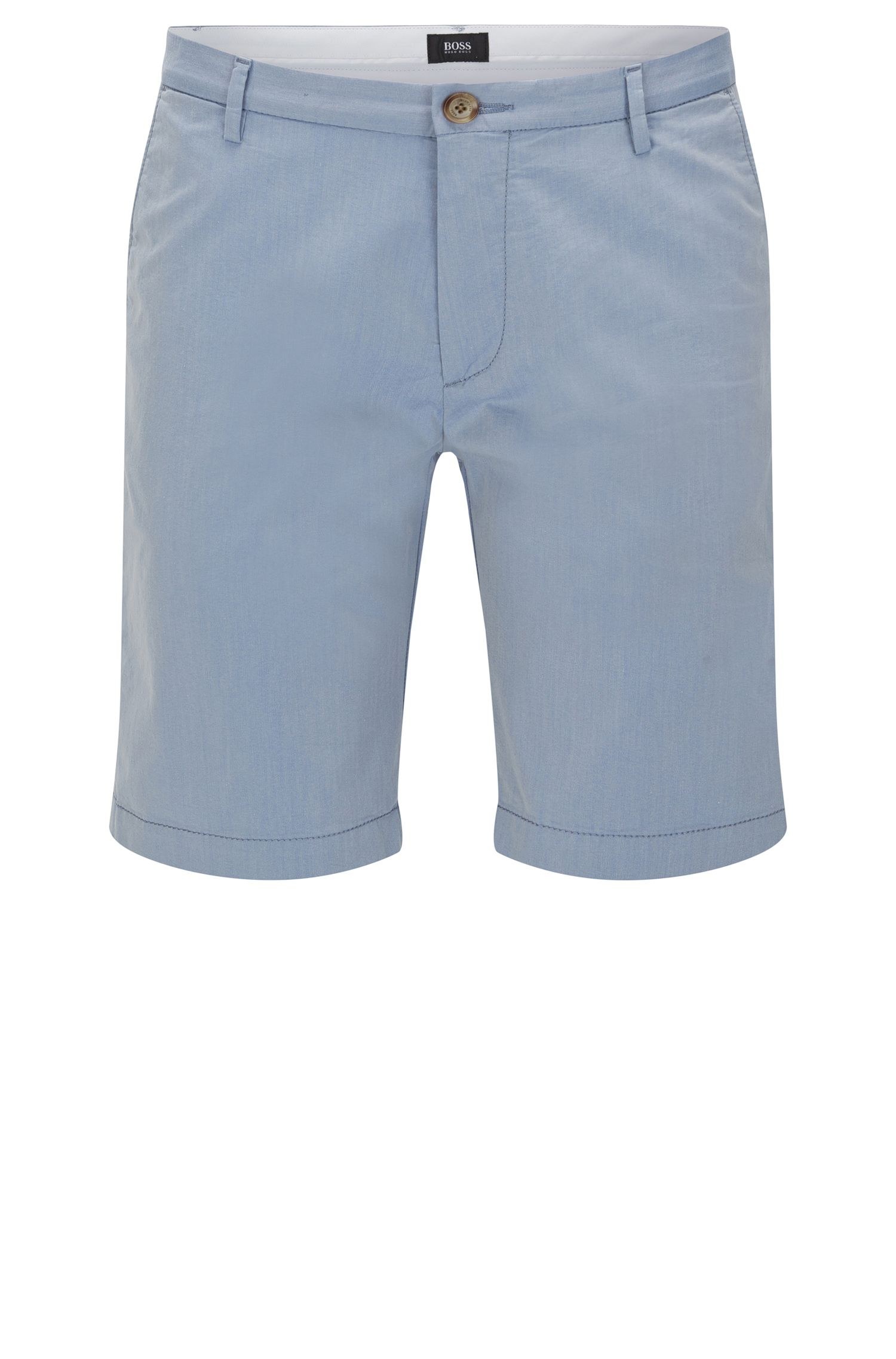 'Rice Short W' | Italian Stretch Cotton Blend Shorts