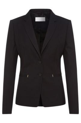 Stretch Virgin Wool Diamond Blazer | Jimondi, Patterned