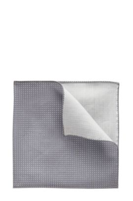 Pin Dot Pocket Square | Pocket sq. cm 33 x 33, Open Blue