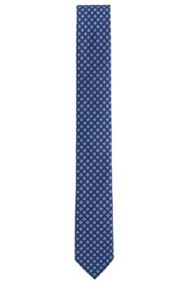 'Tie 6 cm' | Slim, Italian Silk Tie, Blue