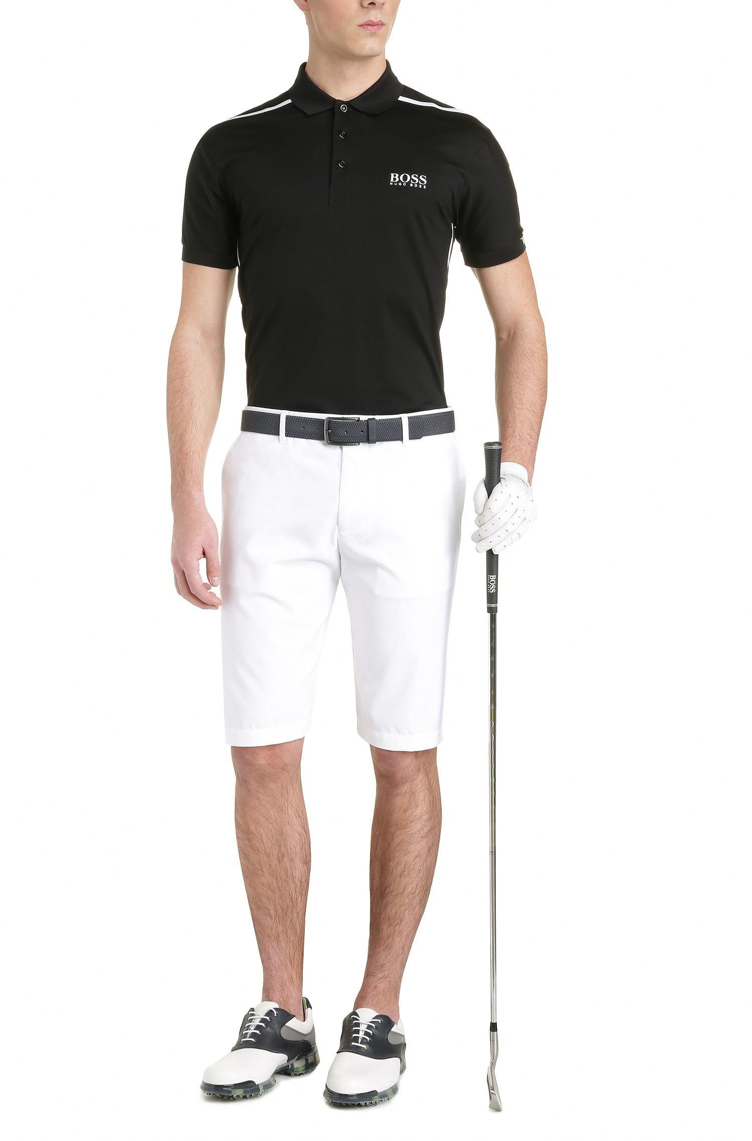 Moisture Manager Stretch Polo Shirt, Modern Fit | Paddy MK