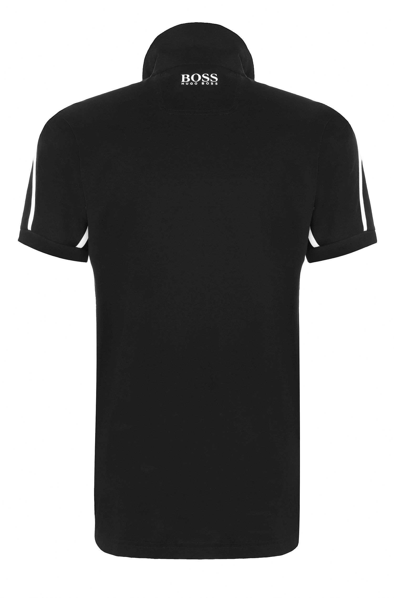 Moisture Manager Stretch Polo Shirt, Modern Fit | Paddy MK, Black