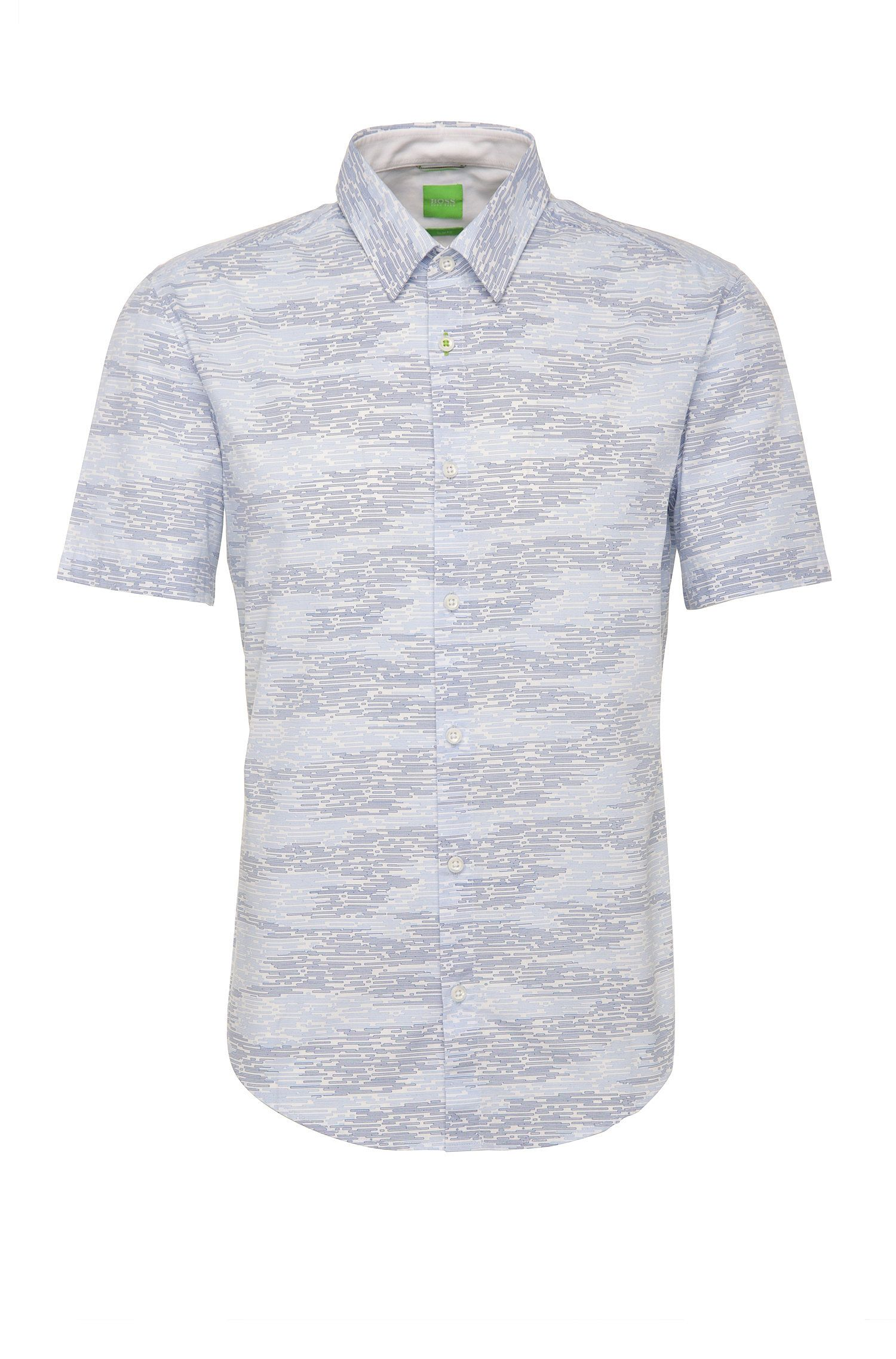 'Bhillo'   Slim Fit, Cotton Button Down Shirt