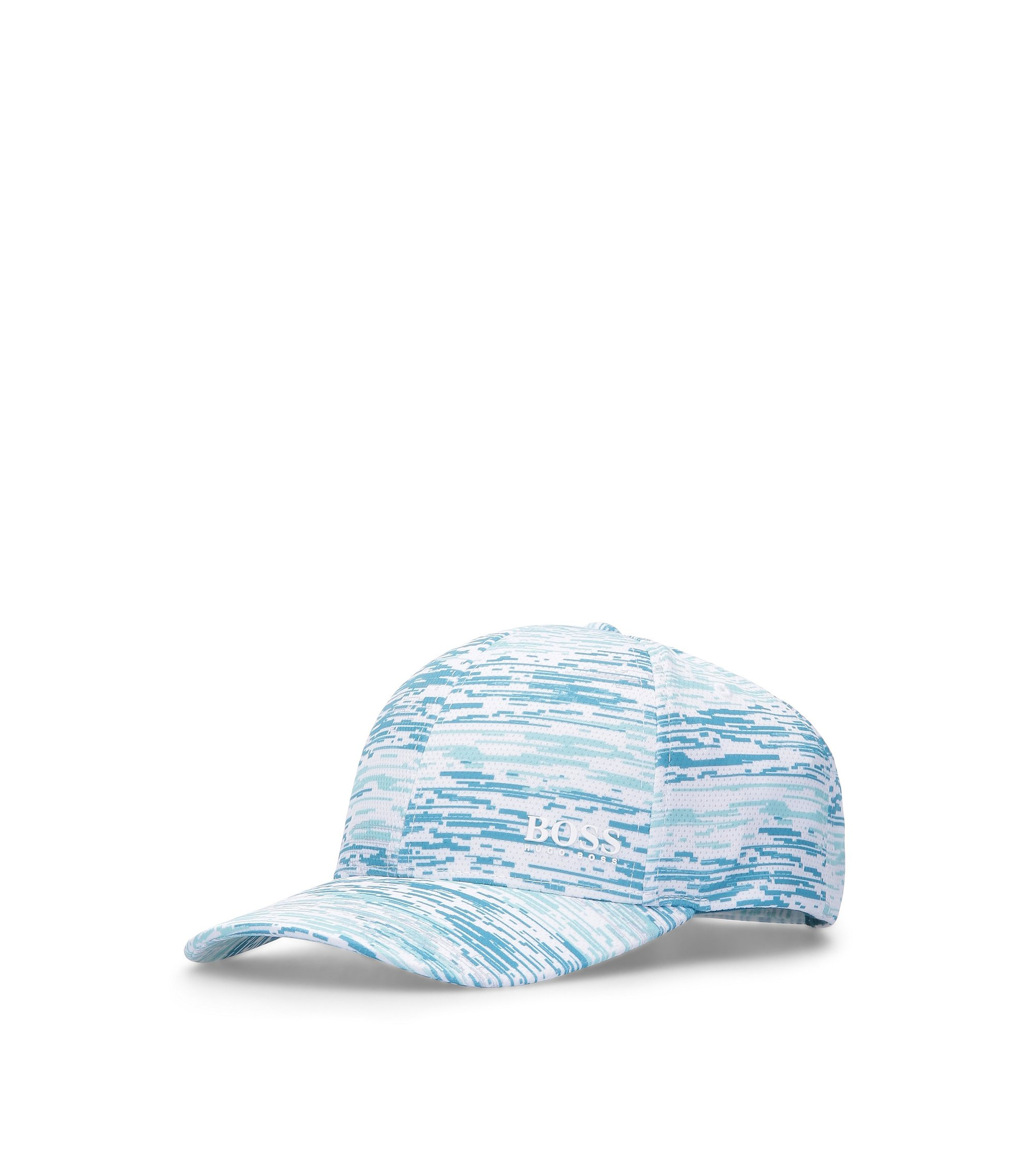Baseball Cap with Pattern | Printcap, Open Blue