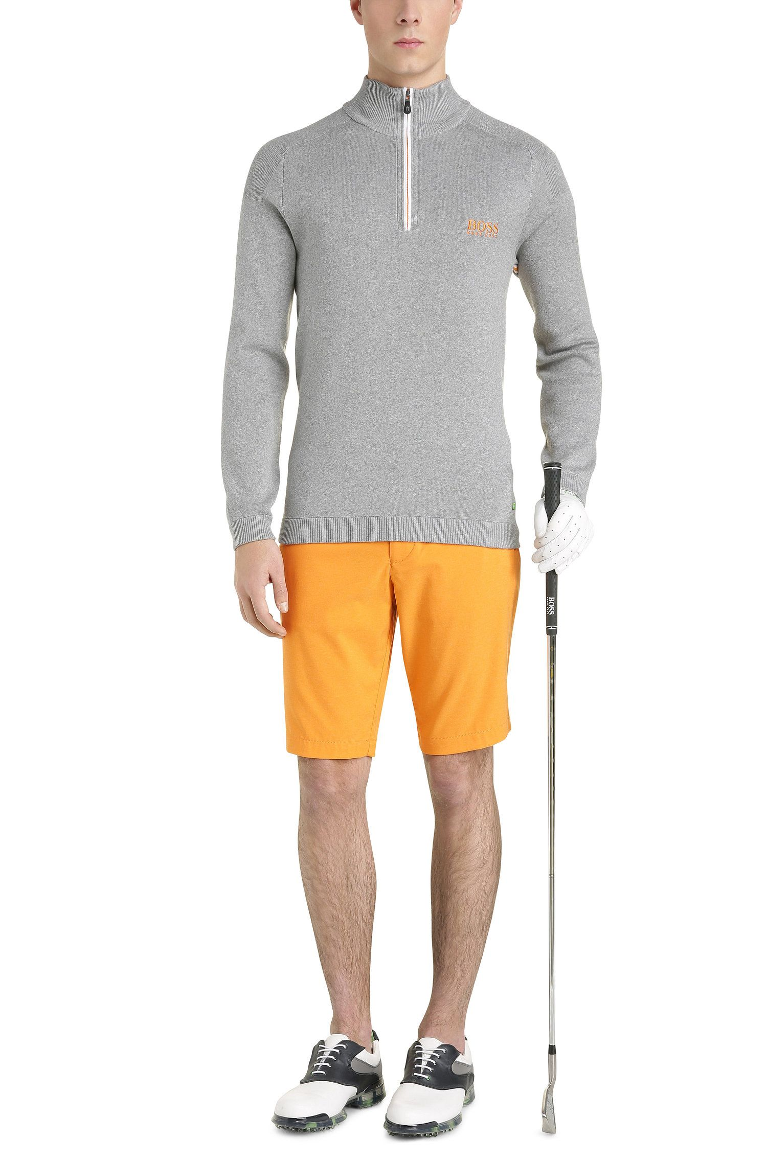 Coolmax High Performance Golf Short, Slim Fit | Hayler Slim, Open Orange