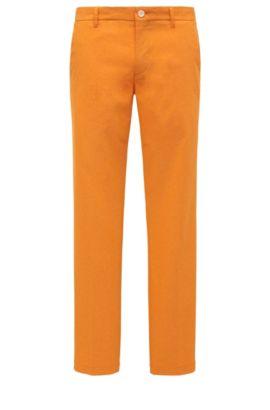 CoolMax Performance Golf Pants, Slim Fit | Hakan Slim, Open Orange