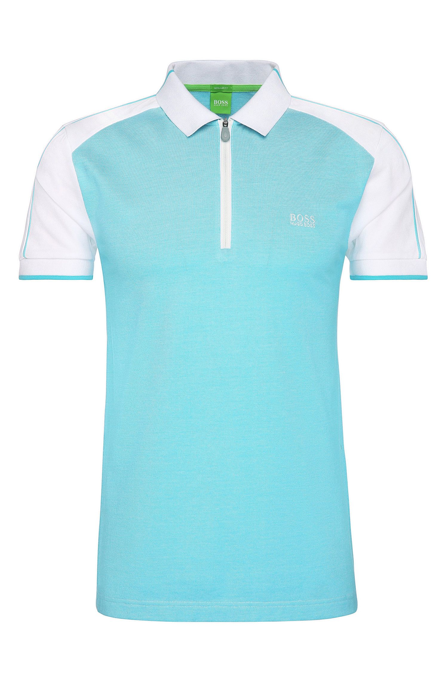 Cotton Polo Shirt, Slim Fit | Philix