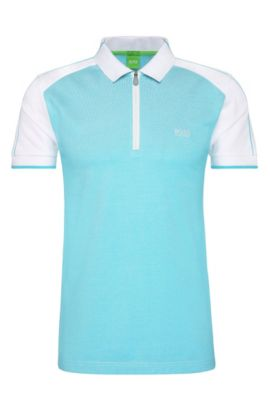 Cotton Polo Shirt, Slim Fit | Philix, White