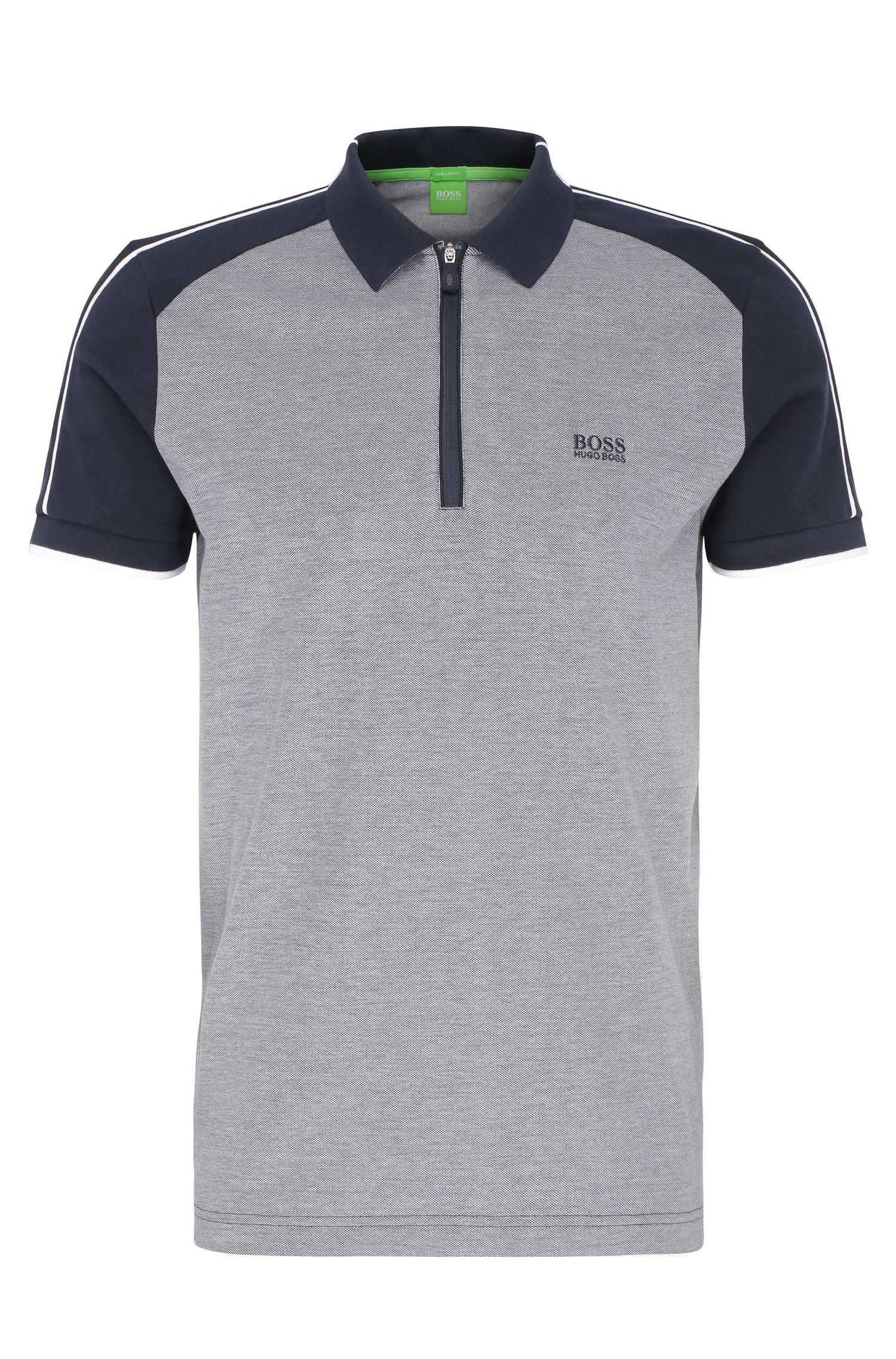 'Philix' | Modern Fit, Cotton Polo