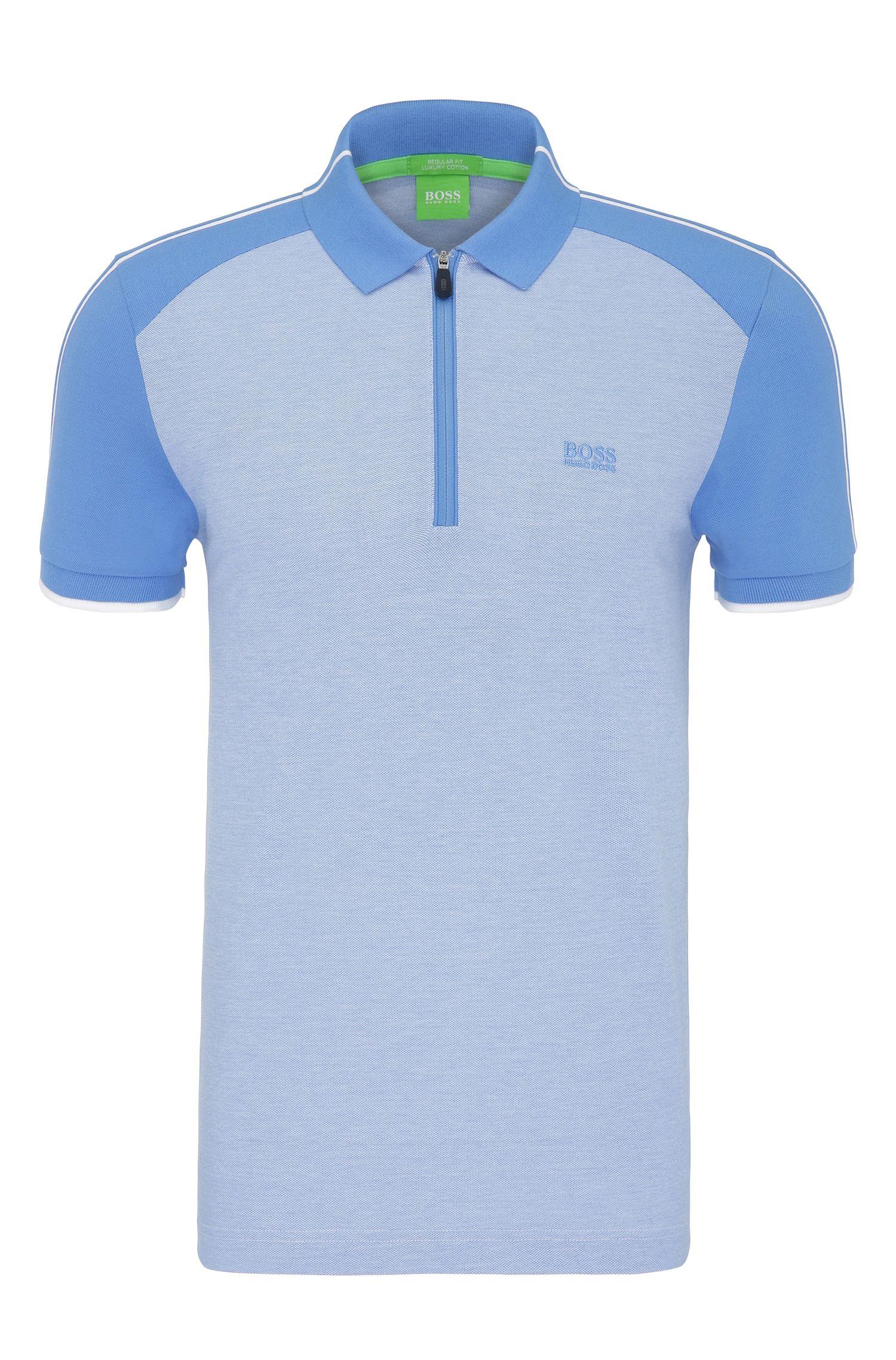 Cotton Polo Shirt, Slim Fit | Philix