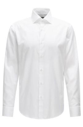 Cotton Dress Shirt, Regular Fit | Gert, White