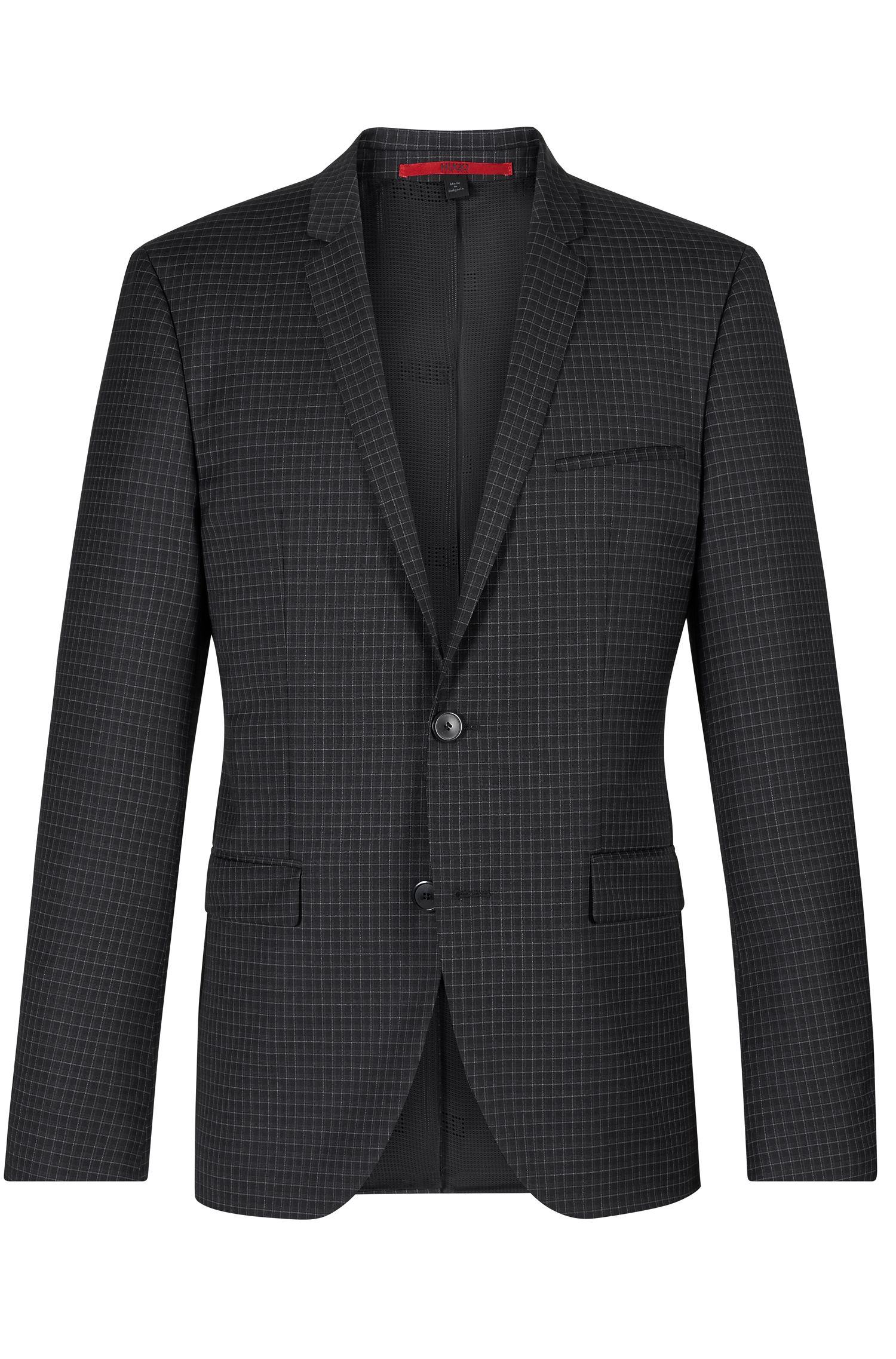 'Adris' | Extra Slim Fit, Virgin Wool Sport Coat