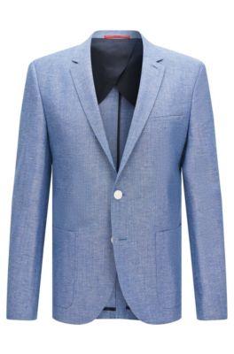 Overcoats for Men | Cotton & Wool Men's Overcoats | HUGO BOSS®