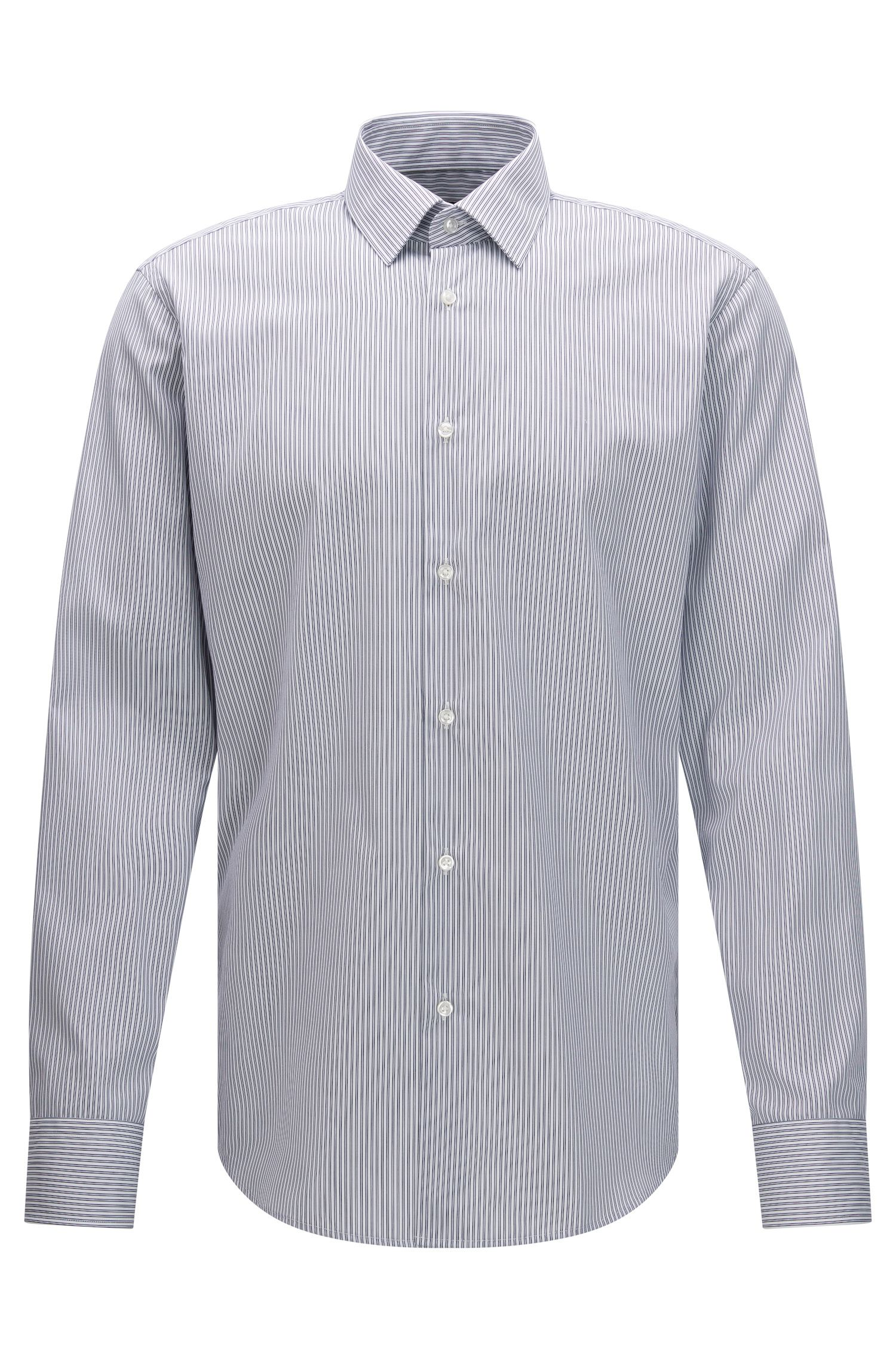 Easy Iron Cotton Dress Shirt, Regular Fit | Enzo