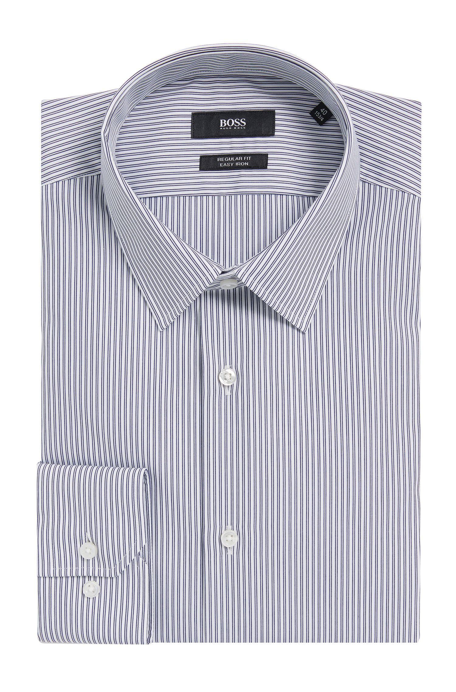 Easy Iron Cotton Dress Shirt, Regular Fit | Enzo