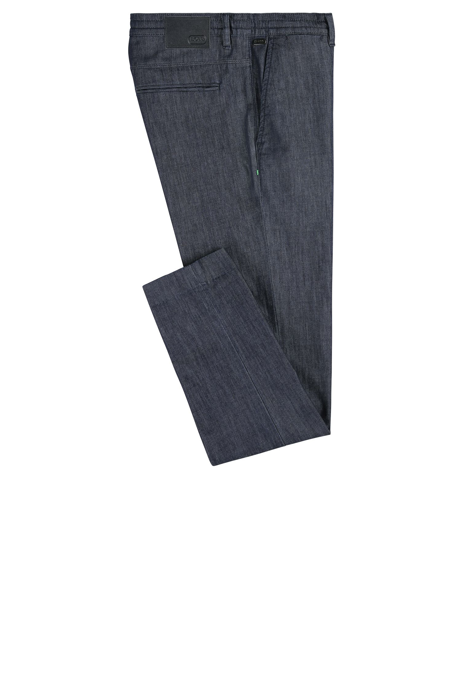Stretch Cotton Blend Jean, Tapered Fit | Darrel