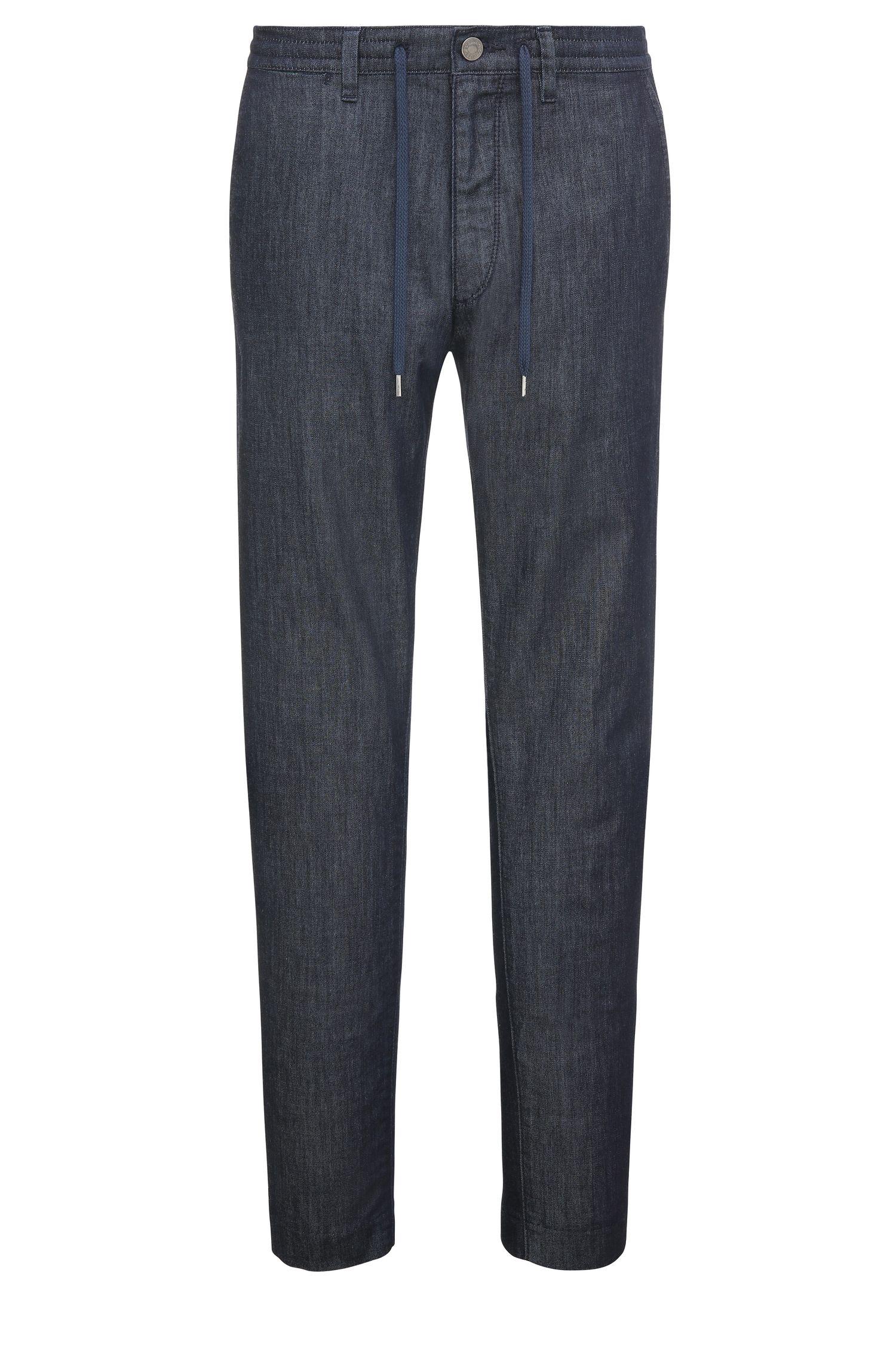 'Darrel4' | Tapered Fit, 7.6 oz Stretch Cotton Blend Jeans