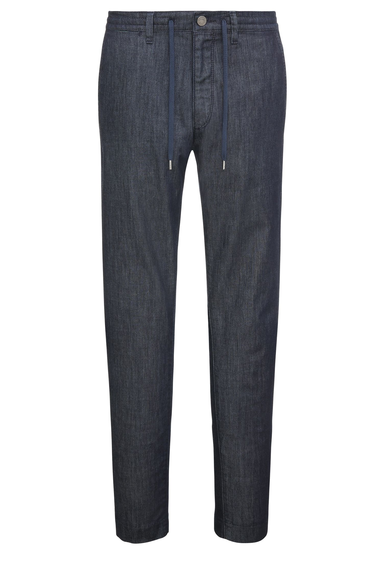 7.6 oz Stretch Cotton Blend Jeans, Tapered Fit | Darrel