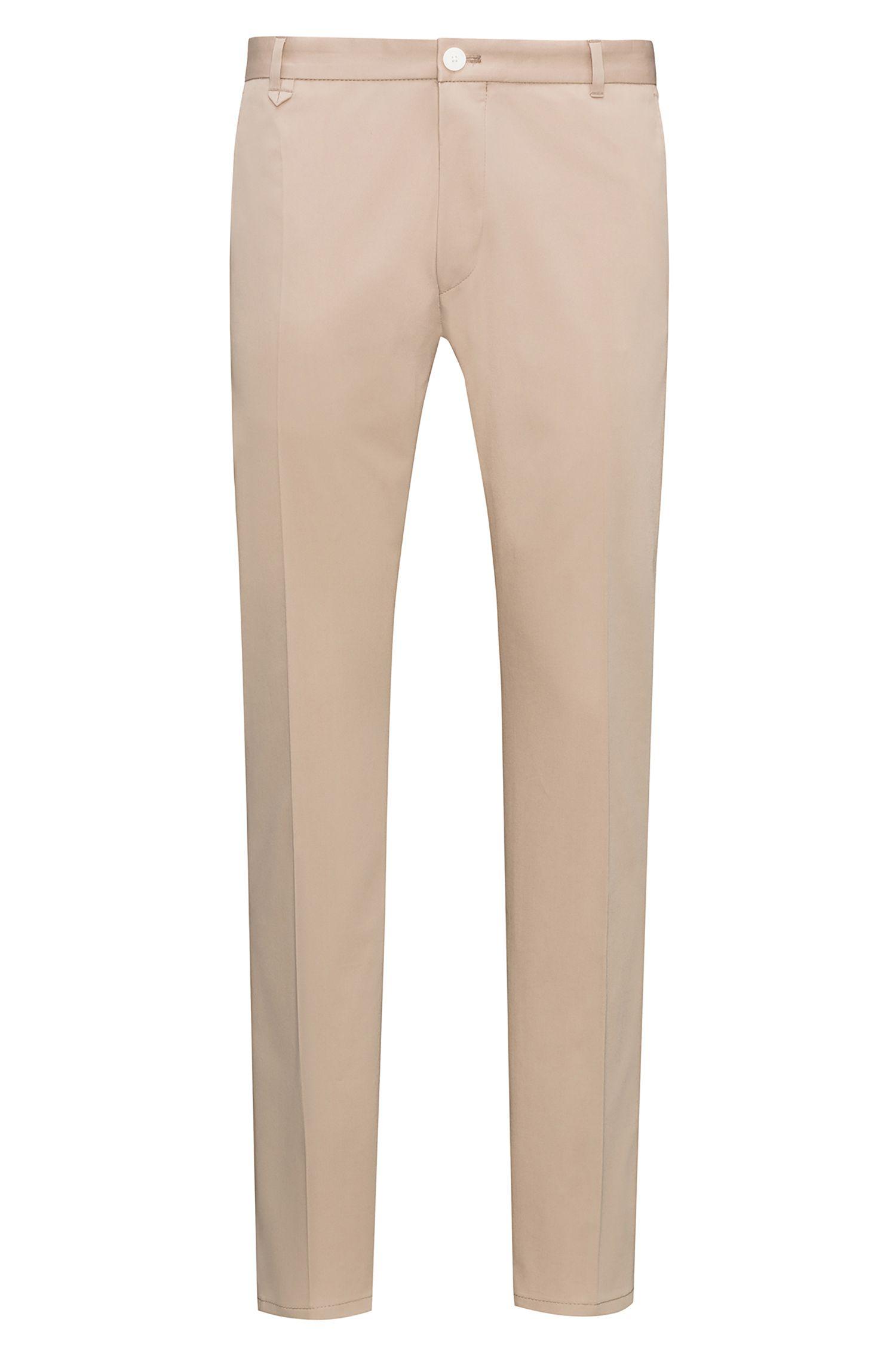 Stretch Cotton Pants, Extra Slim Fit   Heldor