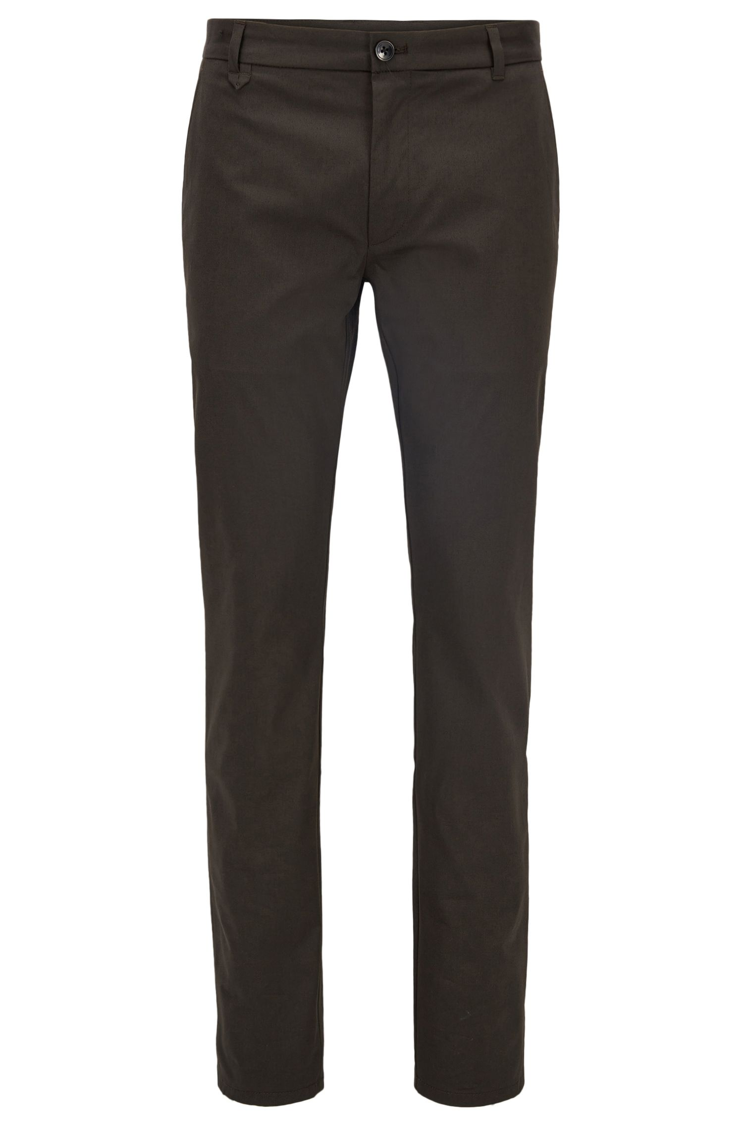 Stretch Cotton Pants, Extra Slim Fit | Heldor