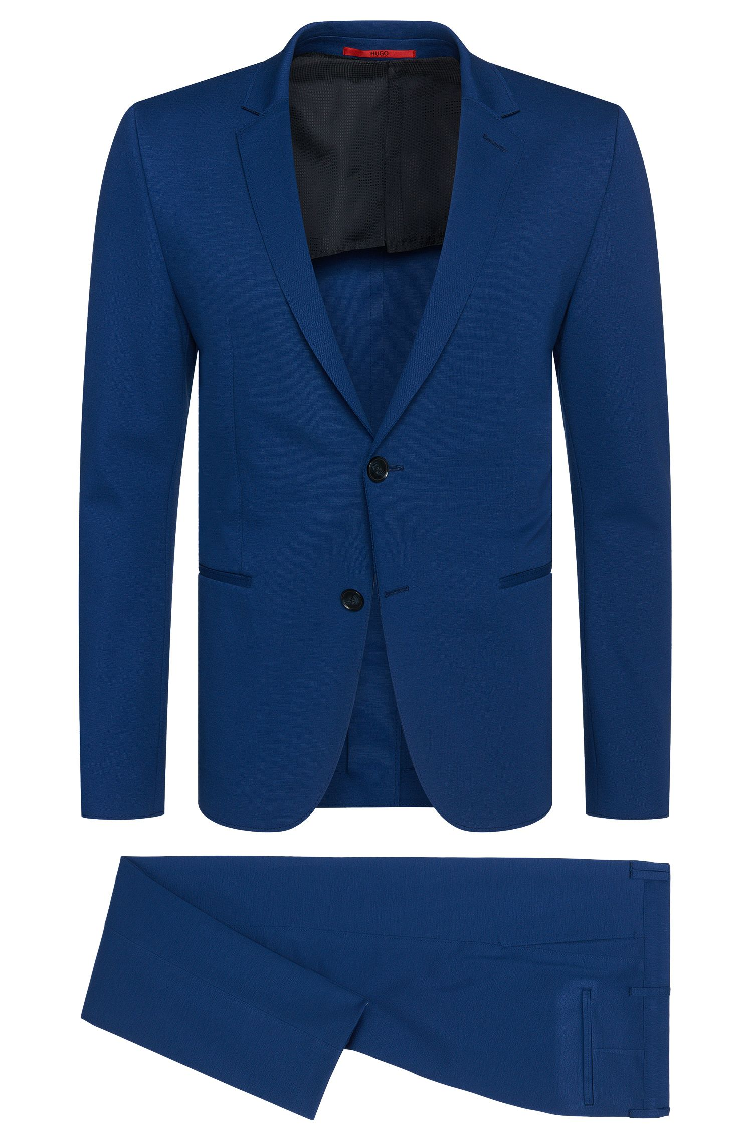 Viscose Blend Jersey Suit, Slim Fit | Arsey/Hyns
