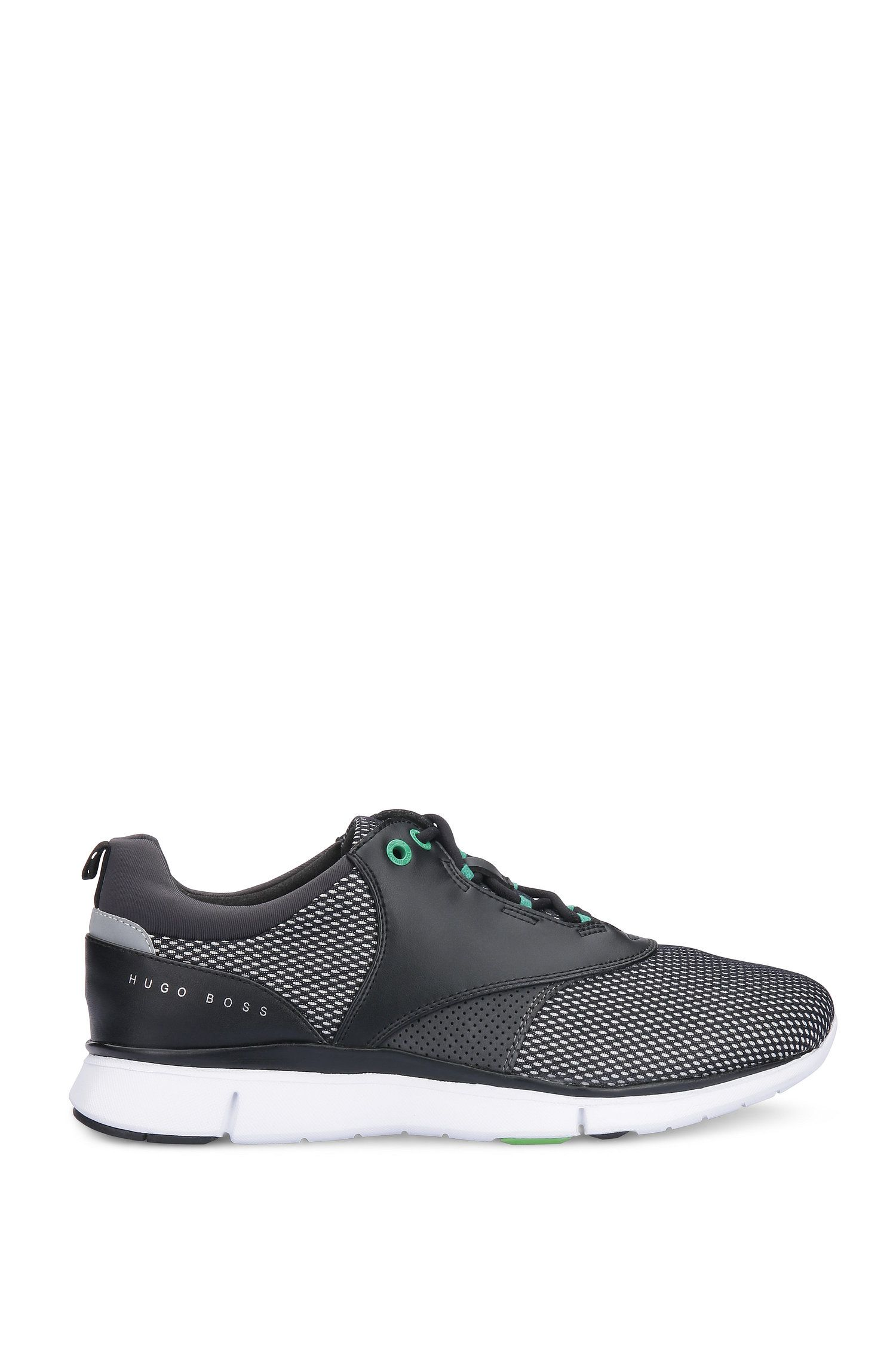 Leather Neoprene Running Sneaker | Gym Runn Nyme