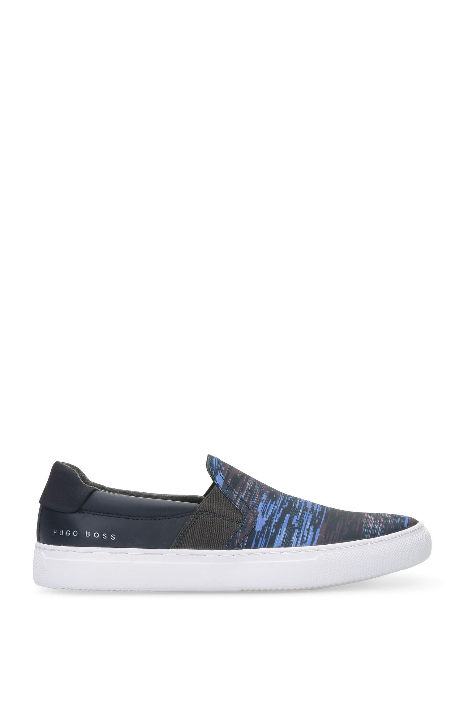 Textile Leather Printed Sneaker | Enlight Slon Nypr