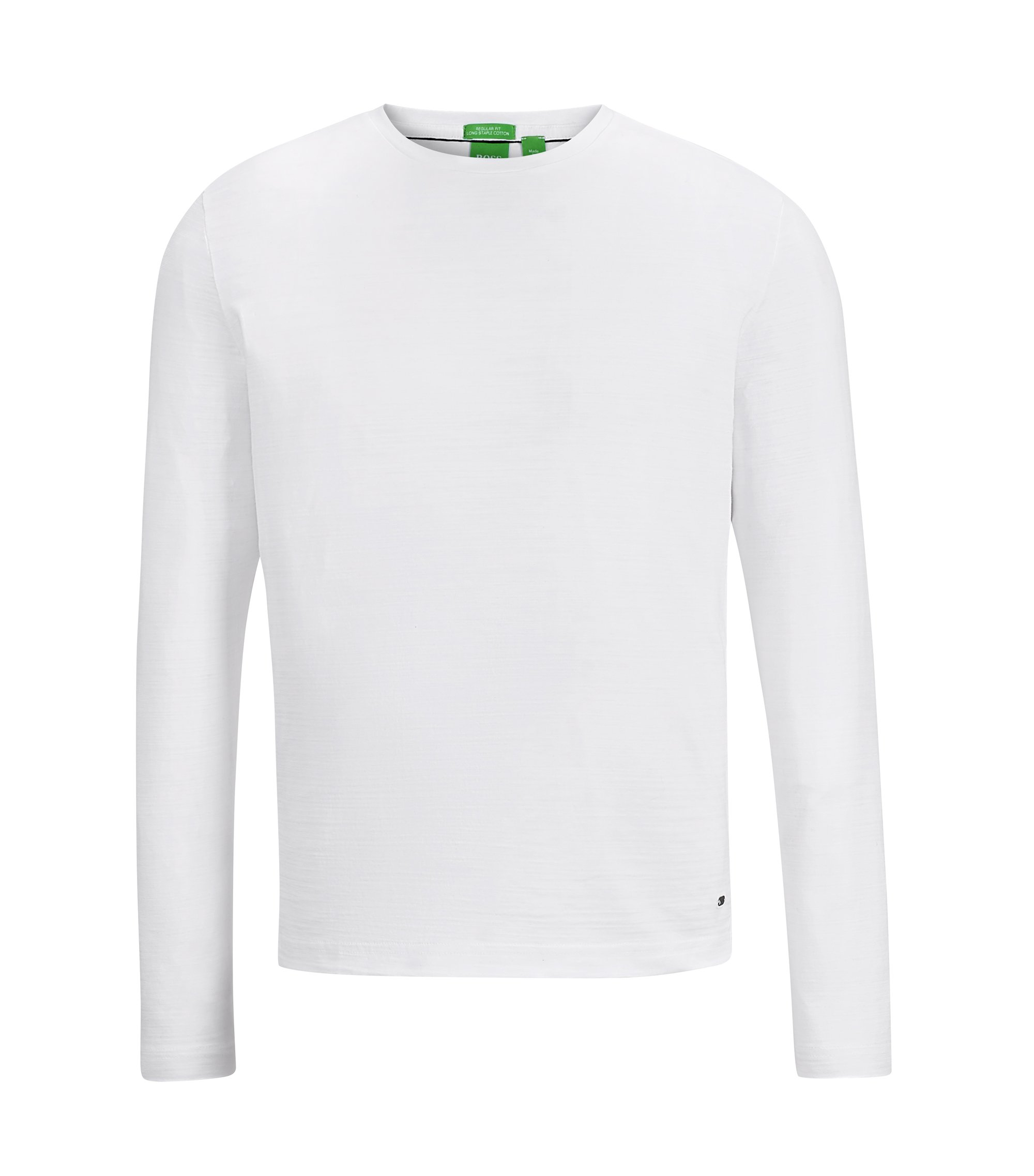 Cotton Sweater | Sessari US, White