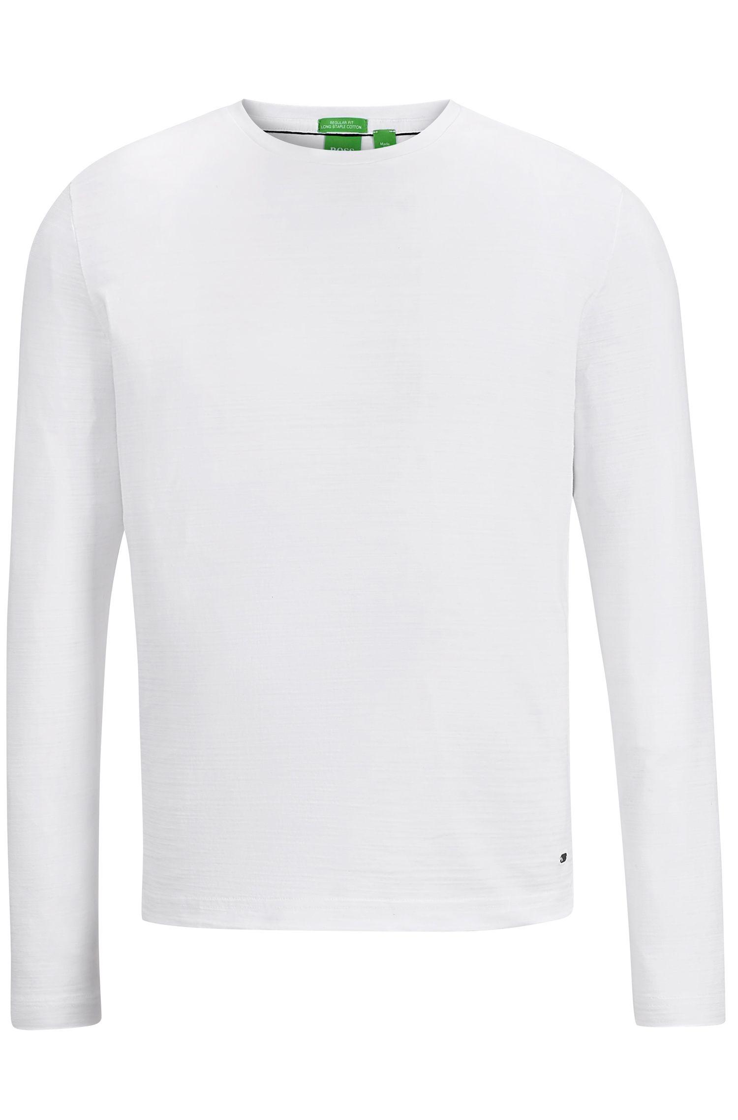 Cotton Long Sleeve T-Shirt | Sessari US