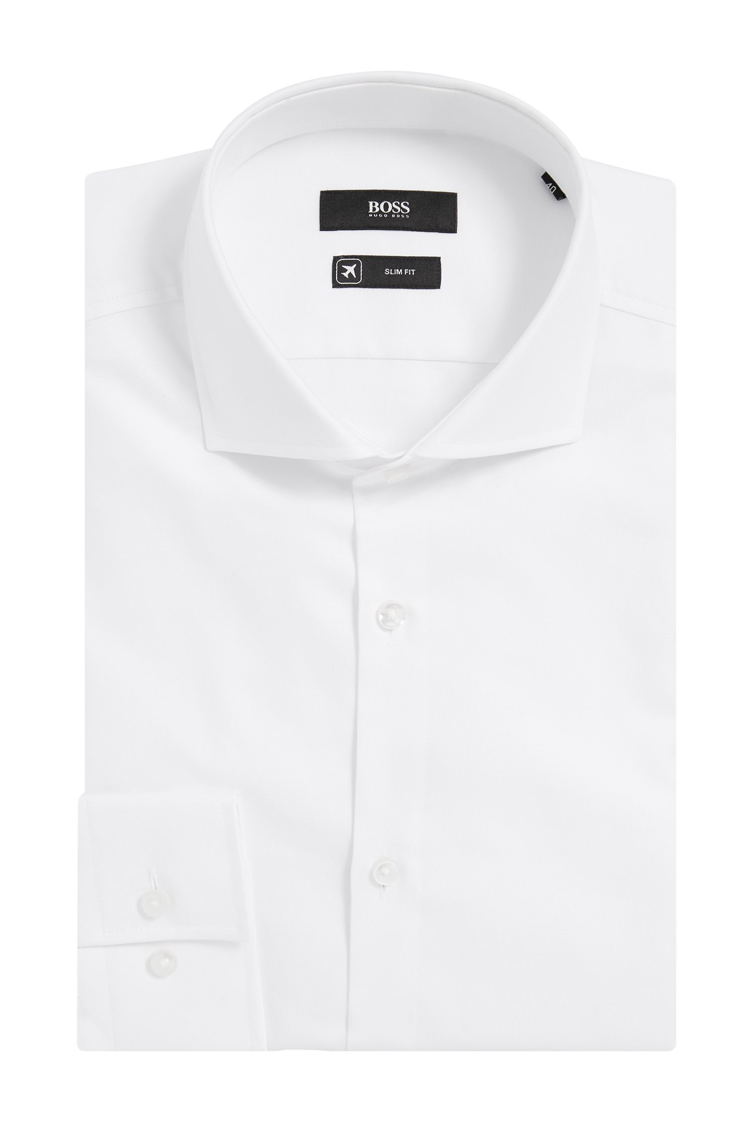 'Jason' | Slim Fit, Fresh Active Traveler Dress Shirt