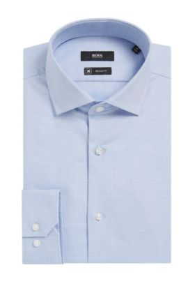 Fresh Active Traveler Dress Shirt, Regular Fit | Gordon  , Blue