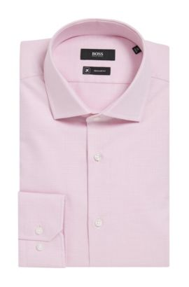 Fresh Active Traveler Dress Shirt, Regular Fit | Gordon  , Pink