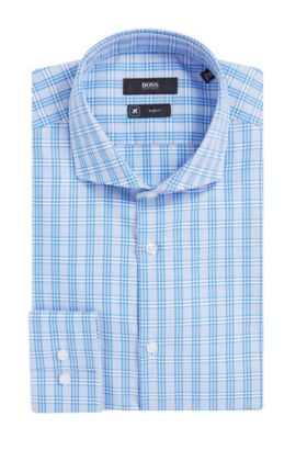 Fresh Active Traveler Dress Shirt, Slim Fit | Jason  , Blue