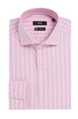 Fresh Active Traveler Dress Shirt, Slim Fit | Jason  , Pink