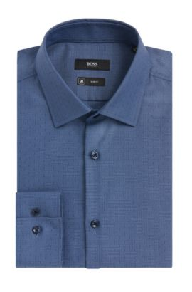 Fresh Active Traveler Dress Shirt, Slim Fit | Jenno  , Open Blue