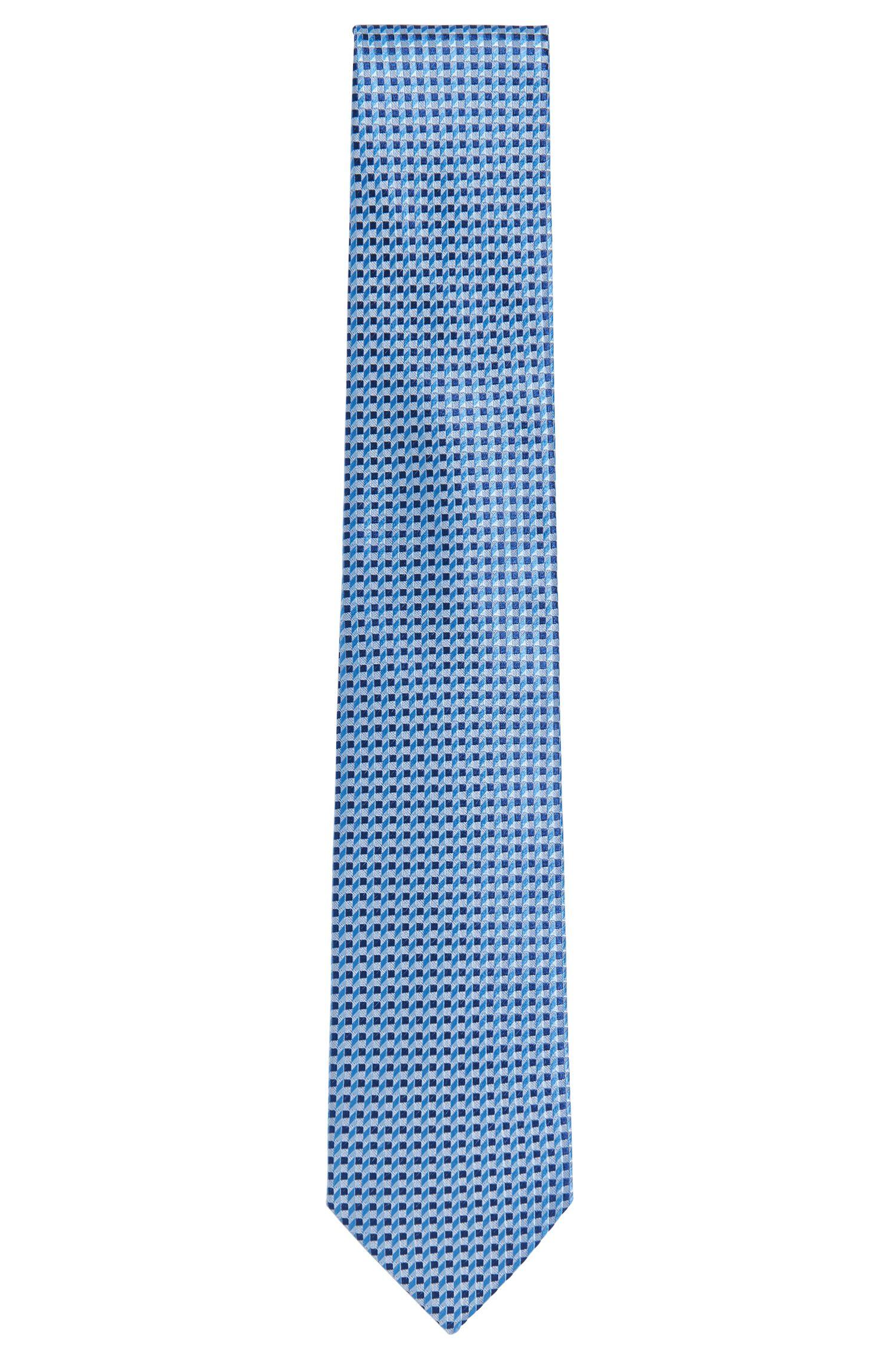 Patterned Italian Silk Tie