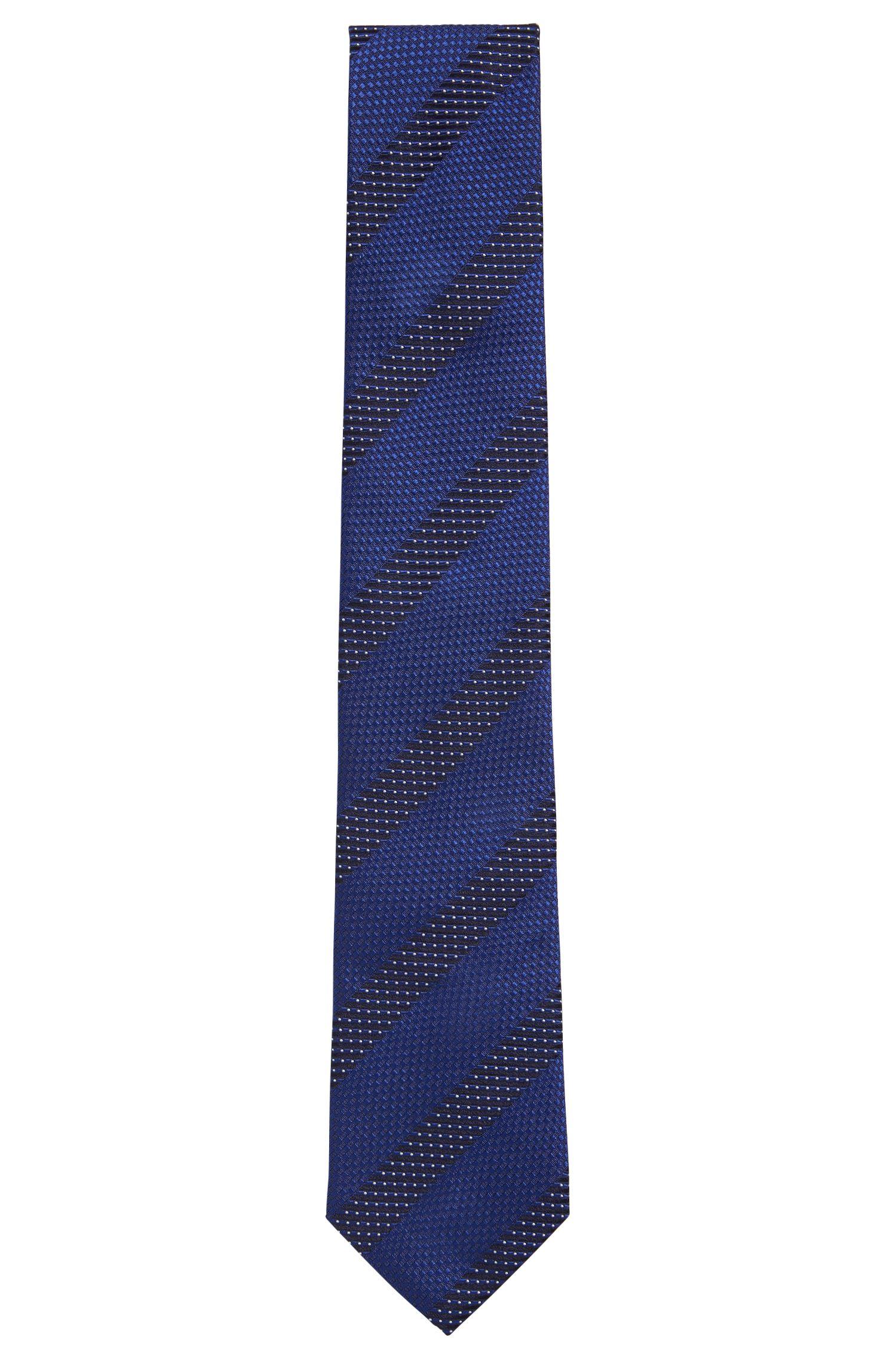 Patterened Italian Silk Tie