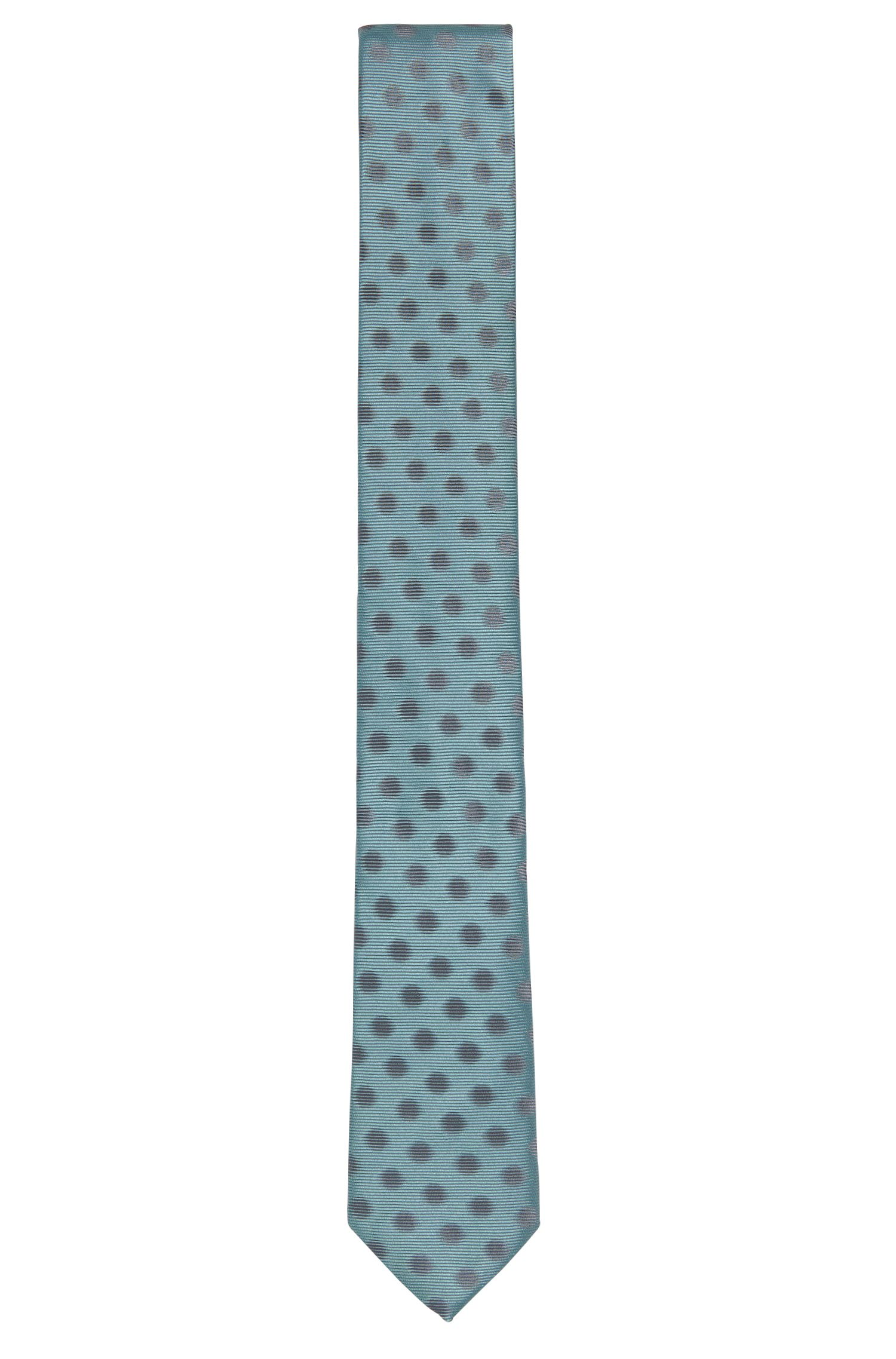'Tie 6 cm'   Slim, Silk Embroidered Tie