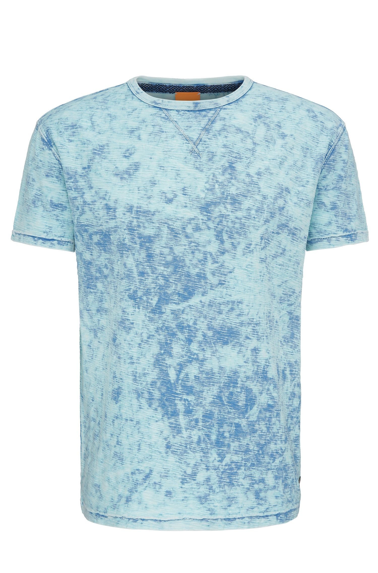 Heathered Cotton T-Shirt | Tay