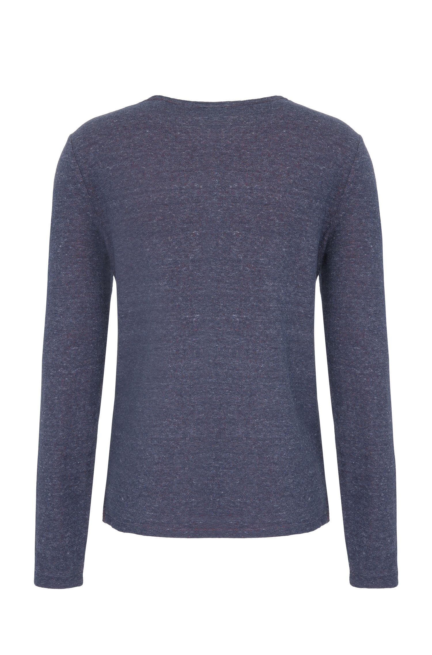 Cotton Melange Long Sleeve Shirt | Wanna