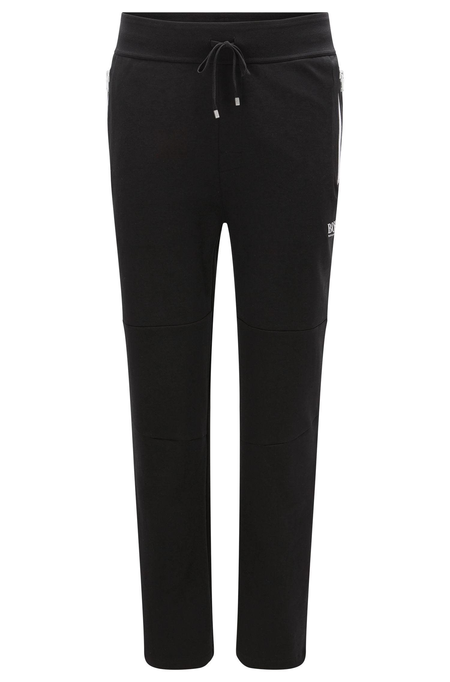 Cotton Blend Track Pant | Long Pant