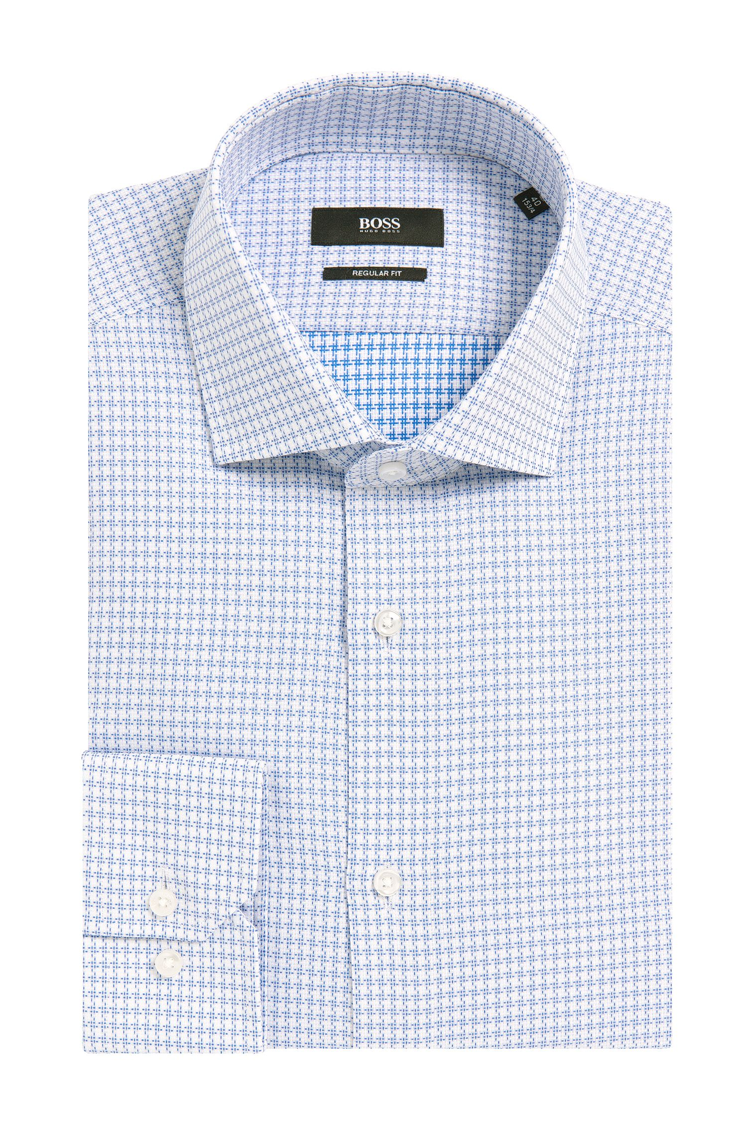 Cotton Dress Shirt, Regular Fit | Gordon